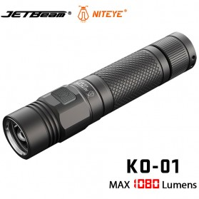 JETBeam KO-01 Senter LED CREE XP-L 1080 Lumens - Black