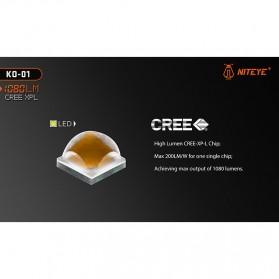 JETBeam KO-01 Senter LED CREE XP-L 1080 Lumens - Black - 8
