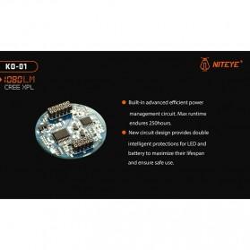 JETBeam KO-01 Senter LED CREE XP-L 1080 Lumens - Black - 9