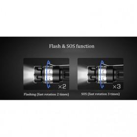 JETBeam RRT01 Senter LED CREE XP-L 950 Lumens - Black - 8