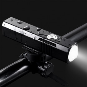 JETBeam BR30 Lampu Sepeda Rechargeable LED Cree XHP35 1800 Lumens - Black - 4