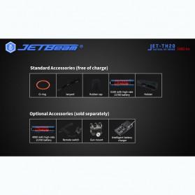JETBeam TH20 Guardian Senter LED CREE XHP70-2 3980 Lumens - Black - 5