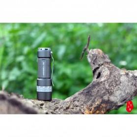 JETBeam RRT03 Raptor Flashlight Senter Tactical LED NICHIA 219C 1400 Lumens - Black - 4