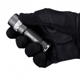 JETBeam RRT03 Raptor Flashlight Senter Tactical LED NICHIA 219C 1400 Lumens - Black - 5