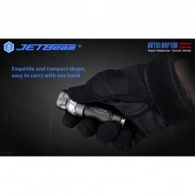 JETBeam RRT01 Raptor Senter LED Nichia 219C 950 Lumens with Extension Tube - Black - 7