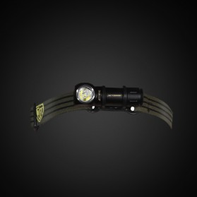 JETBeam HR10 Headlamp Senter LED CREE XP-L HD 700 Lumens - Black - 4