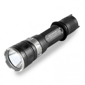 JETBeam RRT2 Raptor Flashlight Senter Tactical LED Luminus SST-70 2080 Lumens - Black