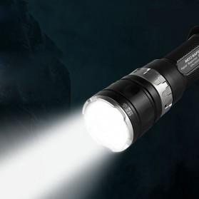 JETBeam RRT2 Raptor Flashlight Senter Tactical LED Luminus SST-70 2080 Lumens - Black - 5