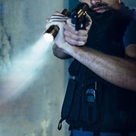 JETBeam RRT2 Raptor Flashlight Senter Tactical LED Luminus SST-70 2080 Lumens - Black - 6