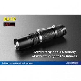 JETBeam BA10 Senter LED CREE XP-G R5 160 Lumens - Black