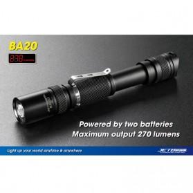 JETBeam BA20 Senter LED CREE XP-G R5 270 Lumens - Black