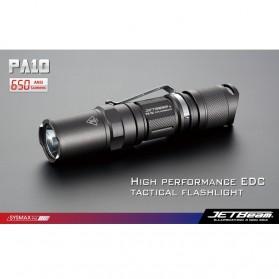 JETBeam PA10 Senter LED CREE XM-L(T6) 650 Lumens - Black