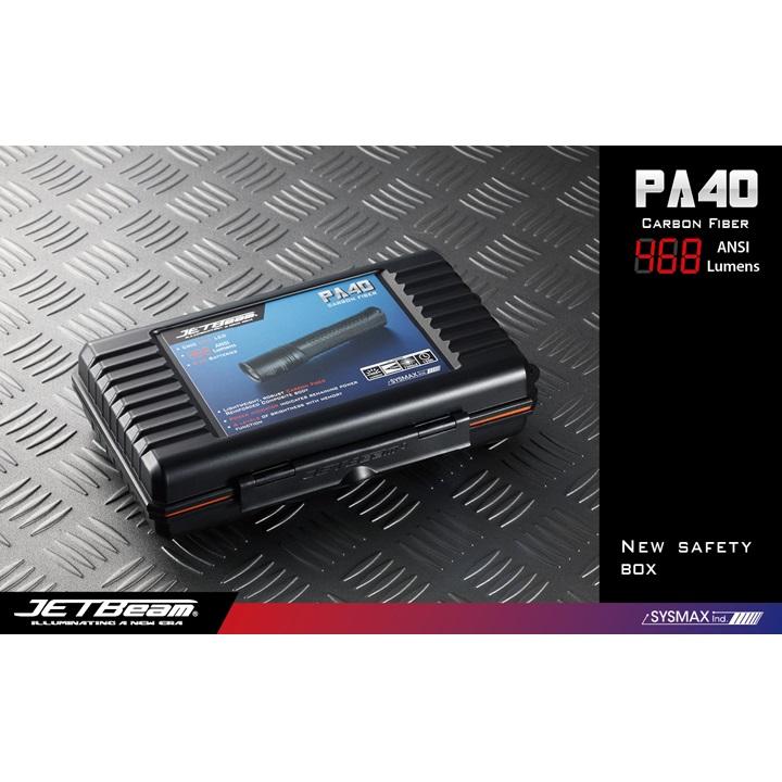 JETBeam PA40 Senter LED CREE XM-L 468 Lumens