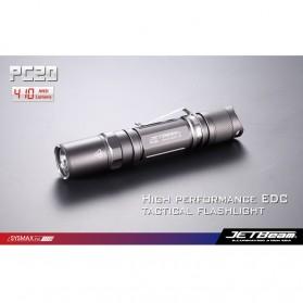 JETBeam PC20 Senter LED CREE XM-L T6 410 Lumens - Black
