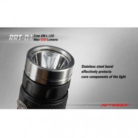 JETBeam RRT-01 Senter LED CREE XM-L2 600 Lumens - Black - 5