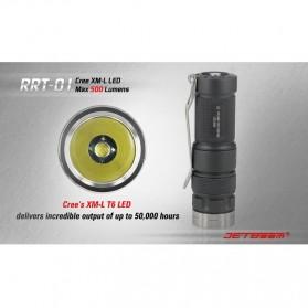 JETBeam RRT-01 Senter LED CREE XM-L2 600 Lumens - Black - 7