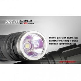 JETBeam RRT-01 Senter LED CREE XM-L2 600 Lumens - Black - 8