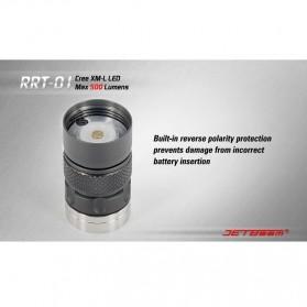 JETBeam RRT-01 Senter LED CREE XM-L2 600 Lumens - Black - 9