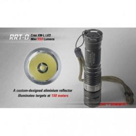 JETBeam RRT-0 Senter LED CREE XM-L2 650 Lumens - Black - 2
