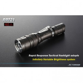 JETBeam RRT-21 Senter LED CREE XM-L 460 Lumens - Black