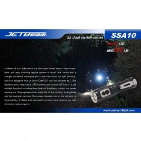 JETBeam SSA10 Senter LED CREE G2 200 Lumens - Black - 11