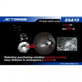 JETBeam SSA10 Senter LED CREE G2 200 Lumens - Black - 12