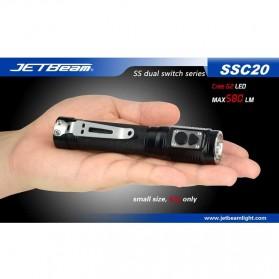 JETBeam SSC20 Senter LED CREE G2 580 Lumens - Black - 8