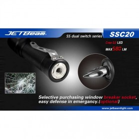 JETBeam SSC20 Senter LED CREE G2 580 Lumens - Black - 9