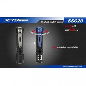 JETBeam SSC20 Senter LED CREE G2 580 Lumens - Black - 10