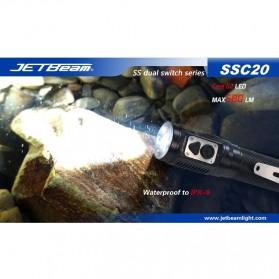 JETBeam SSC20 Senter LED CREE G2 580 Lumens - Black - 12