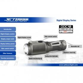JETBeam DDC10 Senter LED CREE G2 285 Lumens - Black - 3