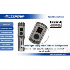 JETBeam DDC10 Senter LED CREE G2 285 Lumens - Black - 6