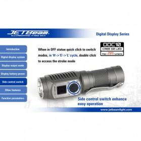 JETBeam DDC10 Senter LED CREE G2 285 Lumens - Black - 8