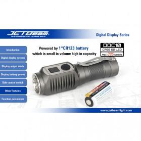 JETBeam DDC10 Senter LED CREE G2 285 Lumens - Black - 10