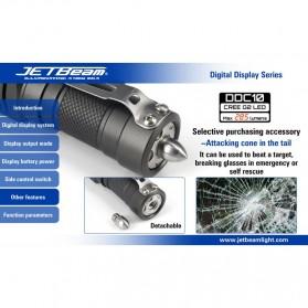 JETBeam DDC10 Senter LED CREE G2 285 Lumens - Black - 12