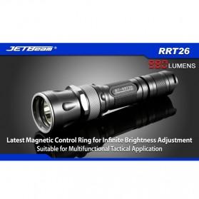 JETBeam RRT26 Senter LED CREE XM-L2 T6 980 Lumens - Black