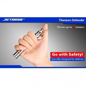 JETBeam Titanium Defender - Silver