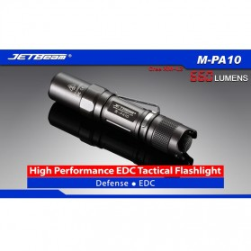 JETBeam M-PA10 Senter LED CREE XM-L2(T6) 660 Lumens - Black