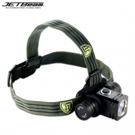 JETBeam HC20 Headlamp LED CREE XM-L2(T6) 800 Lumens - Black