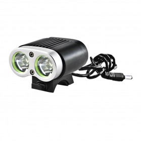 Sanguan SG-T2200 Senter LED Bicycle Light CREE XM-L 2200 Lumens - Black