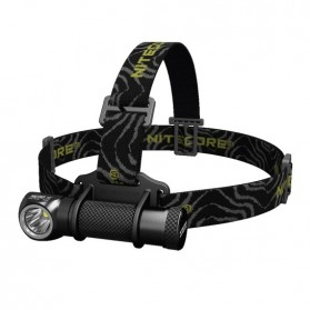 NITECORE HC30 Headlamp Senter LED CREE XM-L2 1000 Lumens - Black