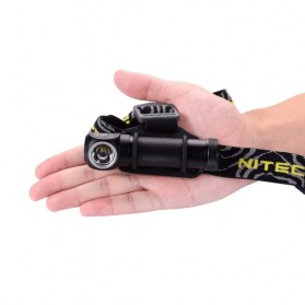 NITECORE HC30 Headlamp Senter LED CREE XM-L2 1000 Lumens - Black - 4
