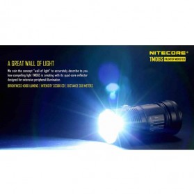NITECORE TM06S Senter LED CREE XM-L2 U3 4000 Lumens - Black - 8