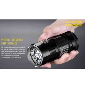 NITECORE TM06S Senter LED CREE XM-L2 U3 4000 Lumens - Black - 9