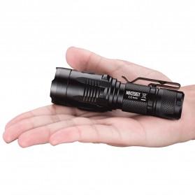 NITECORE MH20GT Senter LED Multitask Hybrid Series Cree XP-L HI V3 1000 Lumens - Black - 4