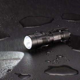 NITECORE MH20GT Senter LED Multitask Hybrid Series Cree XP-L HI V3 1000 Lumens - Black - 5