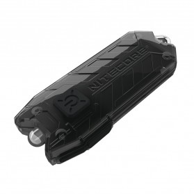 NITECORE TUBE UV Ultraviolet USB Rechargeable Keychain Light - Black