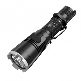 NITECORE MH27UV Ultraviolet Senter LED CREE XP-L HI V3 1000 Lumens - Black