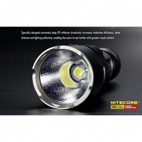 NITECORE TM03 Tiny Monster Senter LED CREE XHP70 2800 Lumens - Black - 3