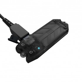 NITECORE TUBE RL RedLight USB Rechargeable Keychain Light - Black - 2